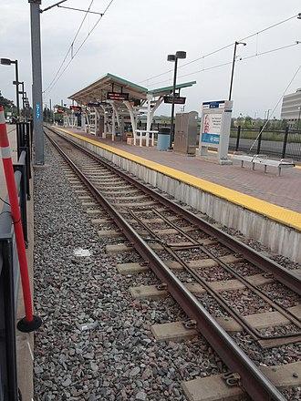 Fort Snelling station - Fort Snelling station in 2014