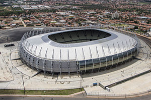 2014 FIFA World Cup venues - Image: Fortaleza Arena on March 2014
