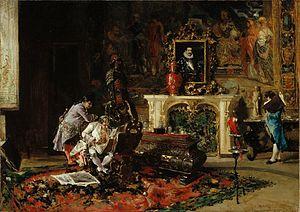 Marià Fortuny - Image: Fortuny El col·leccionista d'estampes I