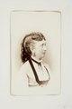 Fotografiporträtt på Therese von Rosen, 1800-talets andra hälft - Hallwylska museet - 107656.tif