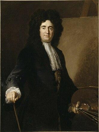François de Troy - François de Troy by his student Alexis Simon Belle
