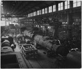 France. Overall view of the locomotive section of the Mechanical Construction workshop - NARA - 541680.tif