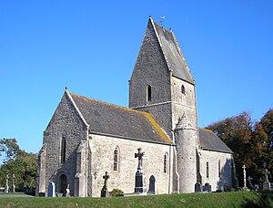 L'église Saint-Éloi.