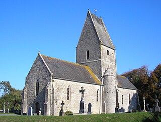 Vierville, Manche Part of Carentan-les-Marais in Normandy, France