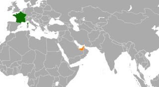 Diplomatic relations between the French Republic and the United Arab Emirates