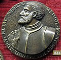 Francesco da sangallo, medaglia di giangiacomo de' medici di marignano, 1555.JPG