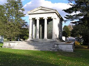 Francis Patrick Garvan - The mausoleum of Francis Patrick Garvan in Woodlawn Cemetery, Bronx, NY