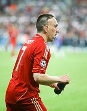 Ribery durante la finale di Champions League 2011-12.