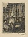Frans Nackaerts - Gang in de slachtstraat - Graphic work - Royal Library of Belgium - S.III 80099.jpg