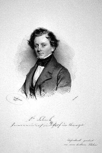Scheibbs - Franz Schuh in 1843