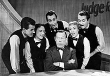 Fred Allen and The Skylarks Judge For Yourself 1954.JPG