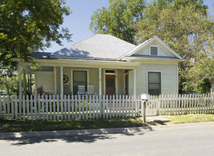 National Register of Historic Places listings in Atascosa County, Texas - Image: Frederick and Sallie Lyons House, Pearsall, TX