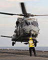 French NH90 Caiman Helicopter Landing Onboard HMS Illustrious MOD 45154597.jpg