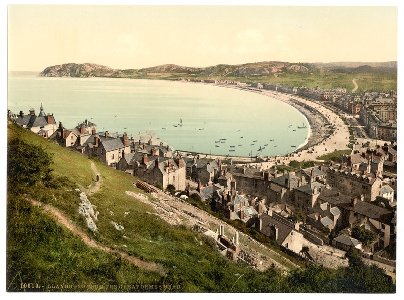 File:From the Great Orme's Head, Llandudno, Wales-LCCN2001703503.tif