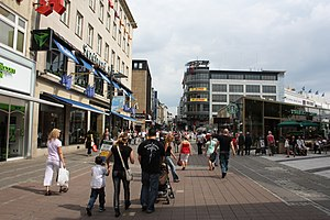 Deutsch: Fußgängerzone Kiel