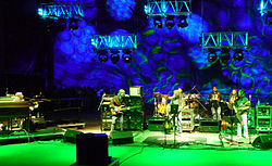 Furthur, am 25. September 2010 im Red Rocks Amphitheatre in Morrison (Colorado)