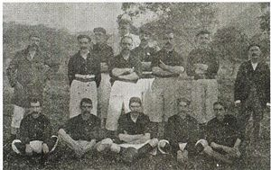 Albinegros de Orizaba - The 1902 team, the first Mexican football champion ever.