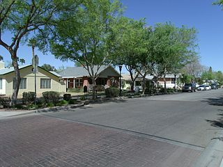Catlin Court Historic District United States historic place