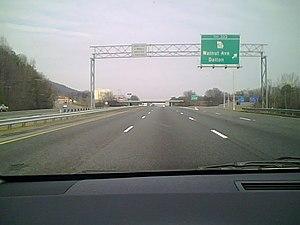 Interstate 75 in Georgia - I-75 near Dalton