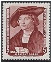 GDR-stamp Dürer 1955 Mi. 504.JPG