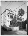 GENERAL VIEW, SOUTHWEST CORNER - 20 Church Street (House), Charleston, Charleston County, SC HABS SC,10-CHAR,241-1.tif