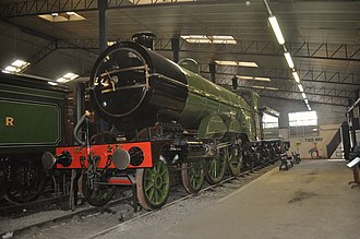 GNR Class C1 (large boiler) - The preserved 251 at Bressingham