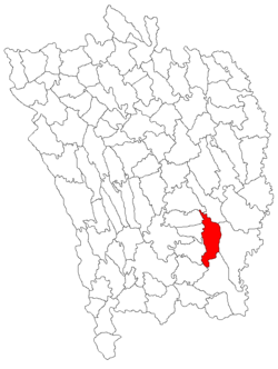 Location of Găgești