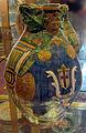 Gagliano di mugello, boccale con stemma ubaldini, 1550 ca..JPG