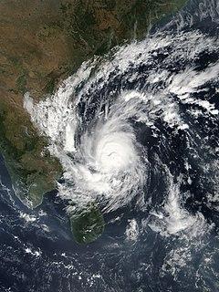 Cyclone Gaja Gaja Means Elephant