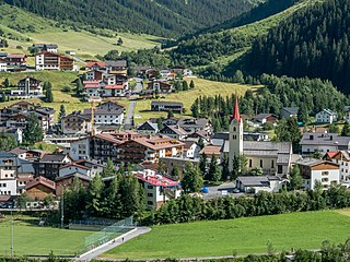Galtür Place in Tyrol, Austria