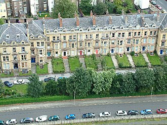 Gambier Terrace - View from the Anglican Cathedral