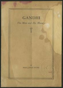 Gandhi The Man and His Message.djvu