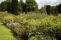 Garden border at Goodnestone Park Kent England 5.jpg