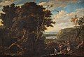 Gaspar de Witte - Landscape with figures and cattle.jpg