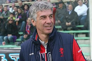 Gian Piero Gasperini - Gasperini with Genoa in 2008