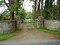 Gates leading to Gwenallt - geograph.org.uk - 272884.jpg