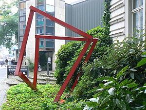 HD Schrader - Elastic Cube (2000) at Kunstmuseum Gelsenkirchen (D)