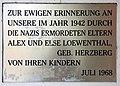 Gedenktafel Elbstr (Meißen) Alex Loewenthal.jpg
