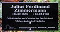 Gedenktafel Fürstenwalder Allee 93 (RahndWil) Julius Ferdinand Zimmermann.jpg