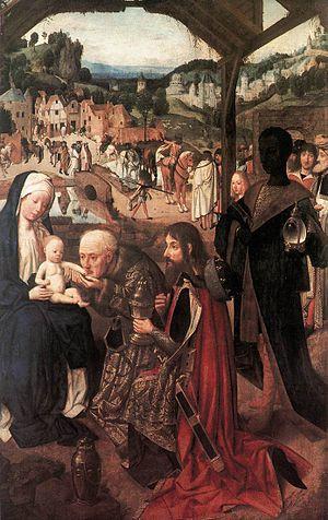 The Adoration of the Magi (Geertgen tot Sint Jans) - Image: Geertgen tot Sint Jans Adoration of the Magi