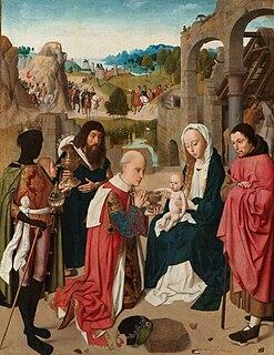 <i>The Adoration of the Magi</i> (Geertgen tot Sint Jans) painting by Geertgen tot Sint Jans