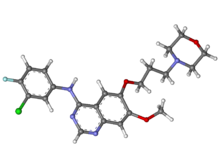 Gefitinib ball-and-stick.png