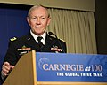 Gen. Martin E. Dempsey speaks remarks at the Carnegie Endowment for International Peace May 1, 2012.jpg