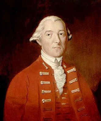 53rd (Shropshire) Regiment of Foot - Sir Guy Carleton, Governor of the Province of Quebec 1768–1778