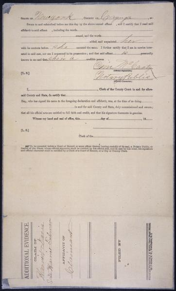 File:General affidavit of Harriet Tubman (1898).djvu