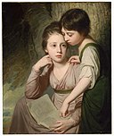 George Romney - Portrait of Two Girls (Misses Cumberland) - 17.3259 - Museum of Fine Arts.jpg