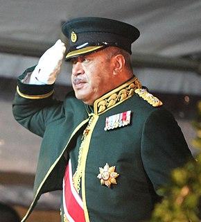 George Tupou V King of Tonga