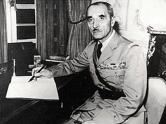 Georges Catroux - General Georges Catroux in London, October 1940, after he joined de Gaulle's staff.