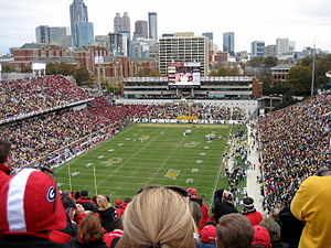 Georgia vs Georgia Tech 2007-HHT-2