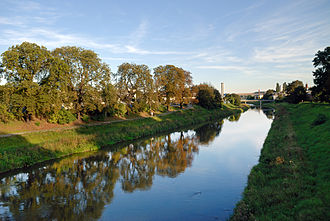 The White Elster river in Gera Gera - Heinrich bridge 2009 1 (aka).jpg